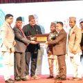 Token of love by Chitwan Industry association.Token of love by Chitwan Industry association.