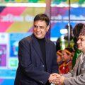 Honourable Brand Ambassador Hari Bansa Acharya with Bhisma Aryal (Founder of Manakamana Group) and Mr. Subash Wagle (General Manager of Manakamana Group).