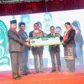 Donation for Gautam Buddha International Cricket stadium .